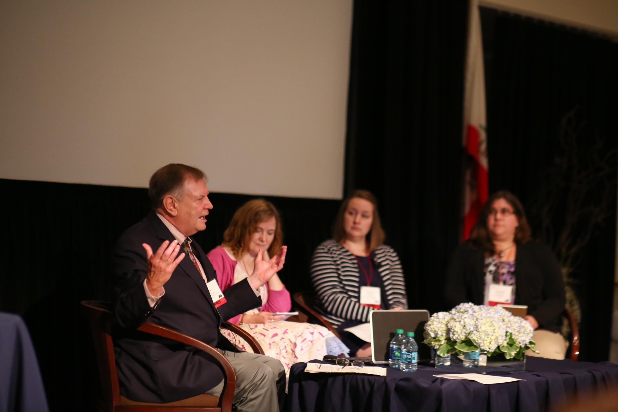 (left to right) Dan Anderson, Rachel Barr, Sarah Lytle, Heather Kirkorian