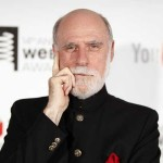 Co-inventor of the Internet, Vinton Cerf, arrives to attend the Webby Awards in New York June 14, 2010. REUTERS/Lucas Jackson (UNITED STATES - Tags: ENTERTAINMENT SCI TECH) - RTR2F6EG